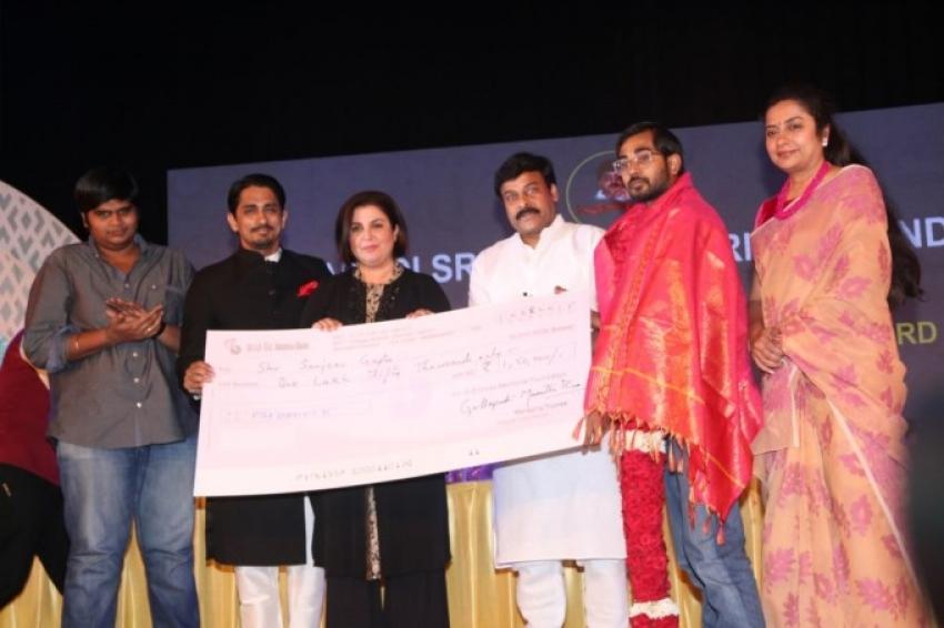 Gollapudi Srinivas National Award 2014 Photos