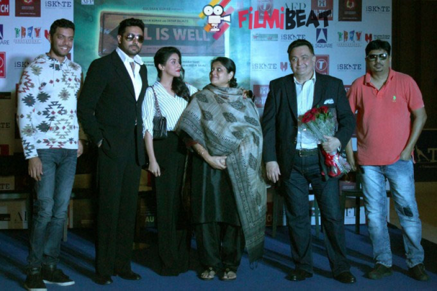 Press Conference of All Is Well At Gurgaon Photos