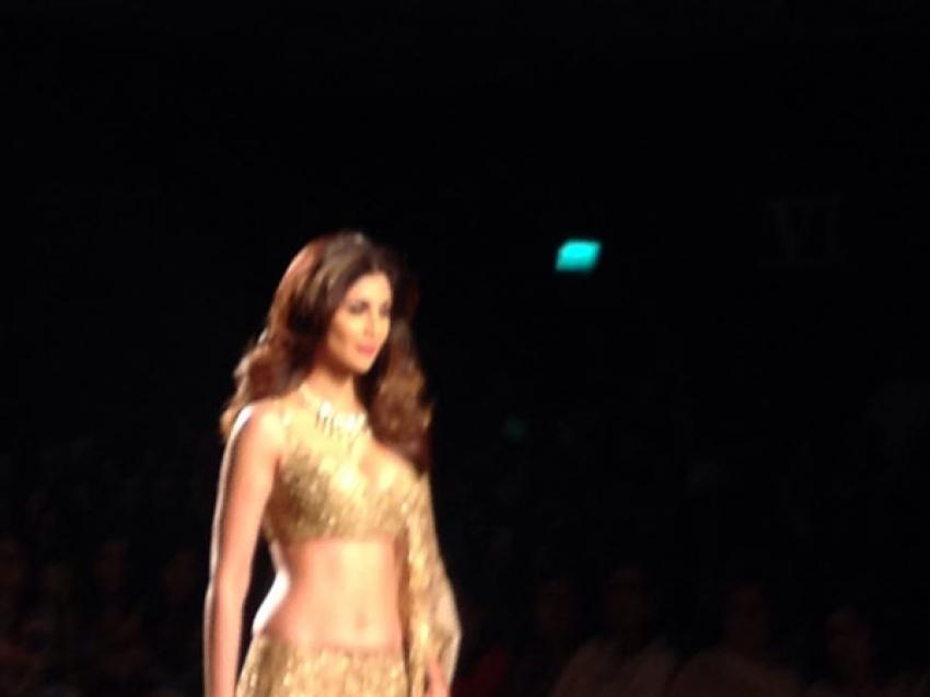 Shilpa Shetty At AICW 2015 Photos