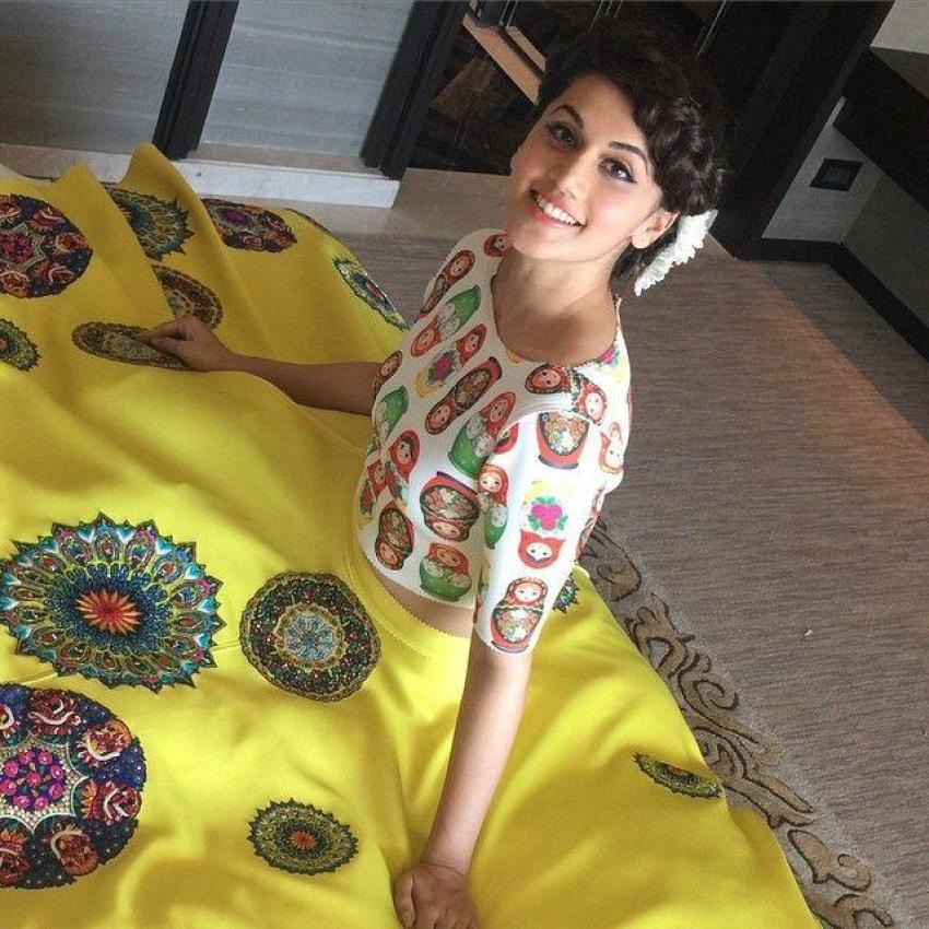 Unseen And Rare Pics Of Actress Taapsee Pannu Photos
