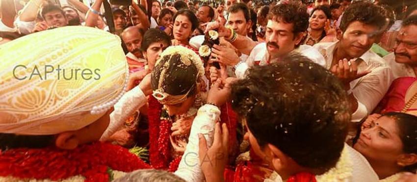 Shivarajkumar Daughter Nirupama & Dileep Marriage Photos