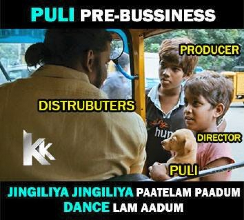 Troll Memes On Vijay's Puli And Ajith's Vedhalam Photos