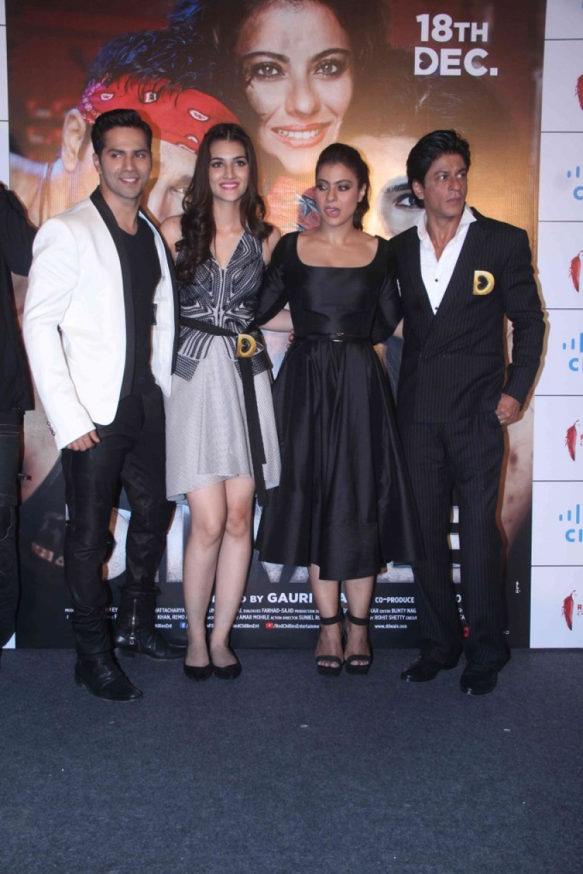 Dilwale Trailer Launch Photos
