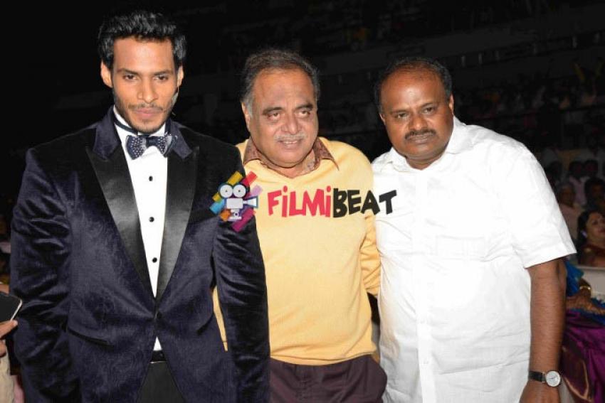 Nikhil Gowda's Jaguar Movie Launch Photos