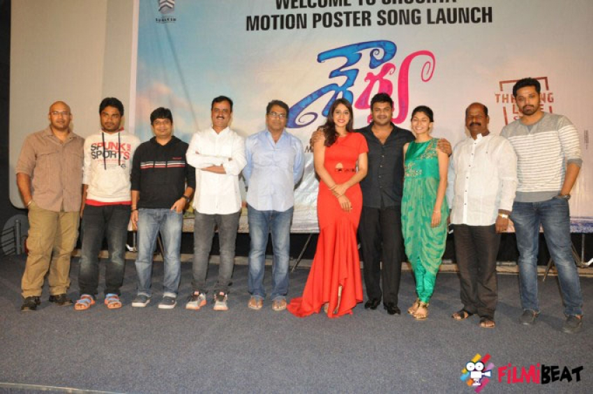 Shourya Motion Poster Launch Photos