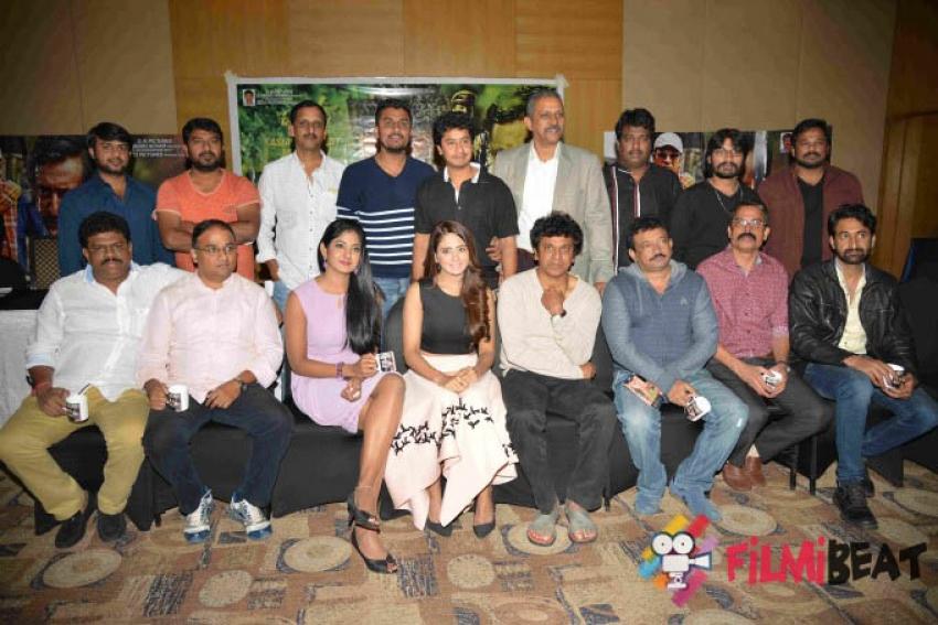 Killing Veerappan Film Success Pressmeet Photos