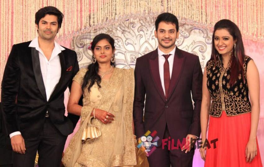 Actor Sethuraman Wedding Reception Photos