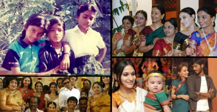 rare and unseen pics of dhanush with his family photos filmibeat