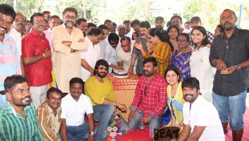 Nadigar Sangam Leader's Nassar And J. K. Rithesh Birthday Celebration Photos
