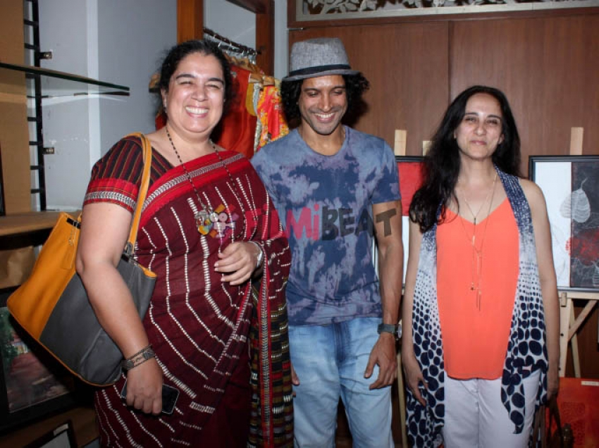 Bollywood Celebrities Attend Art Exhibition by 16 Female Artist Photos