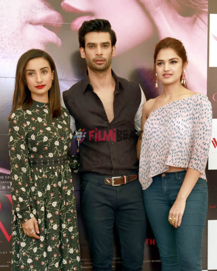 Love Games Movie Promotion At New Delhi Photos Filmibeat