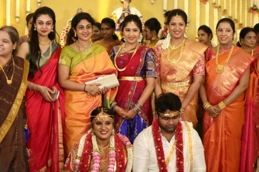 Director KS Ravikumar Daughter Wedding Photos - FilmiBeat