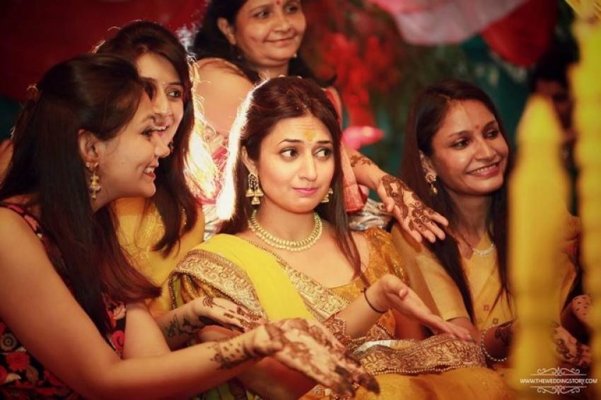 Inside Photos Of Divyanka Tripathi Haldi Ceremony Photos