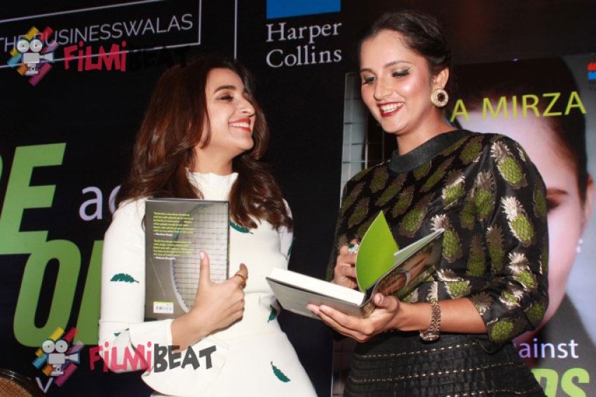 Parineeti Chopra and Sania Mirza Launch ACE AGAINST ODDS