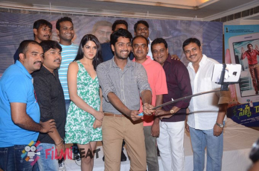 Selfie Raja Music Launch Press meet Photos