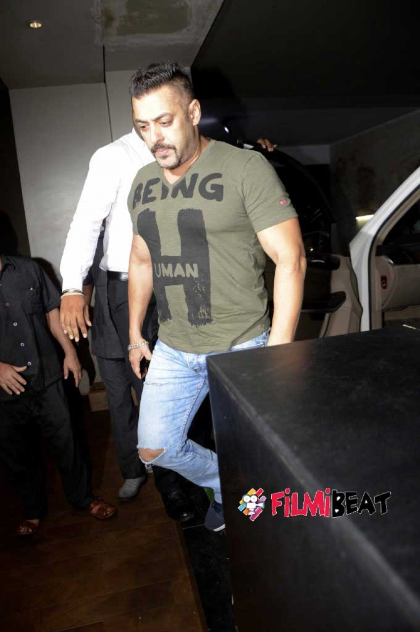 Sultan Screening With Salman Khan And His Family At Lightbox Photos