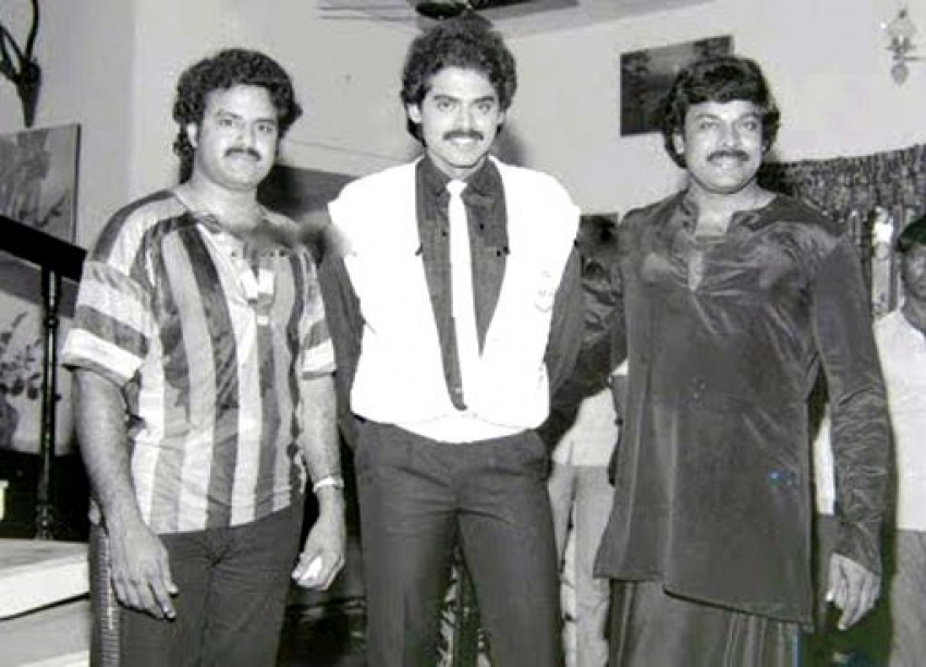 Memorable Pictures Of Chiranjeevi