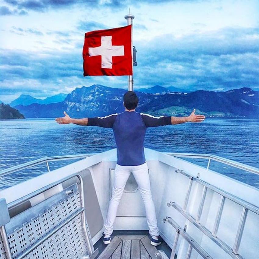 Ranveer Singh Switzerland Vacation Photos - FilmiBeat