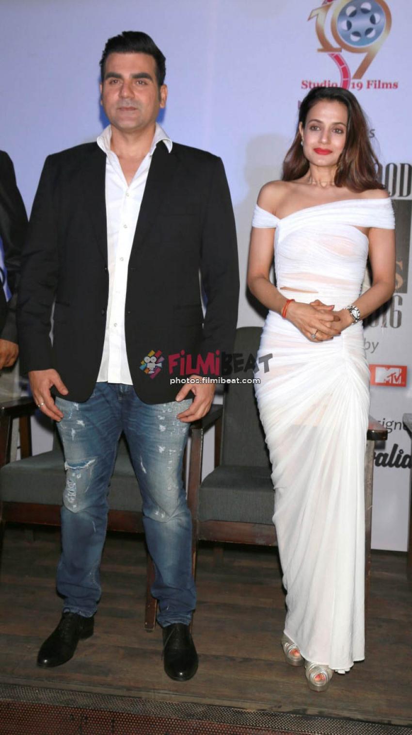 Ameesha Patel 2016 arbaaz khan and ameesha patel at bollywood mr and miss india