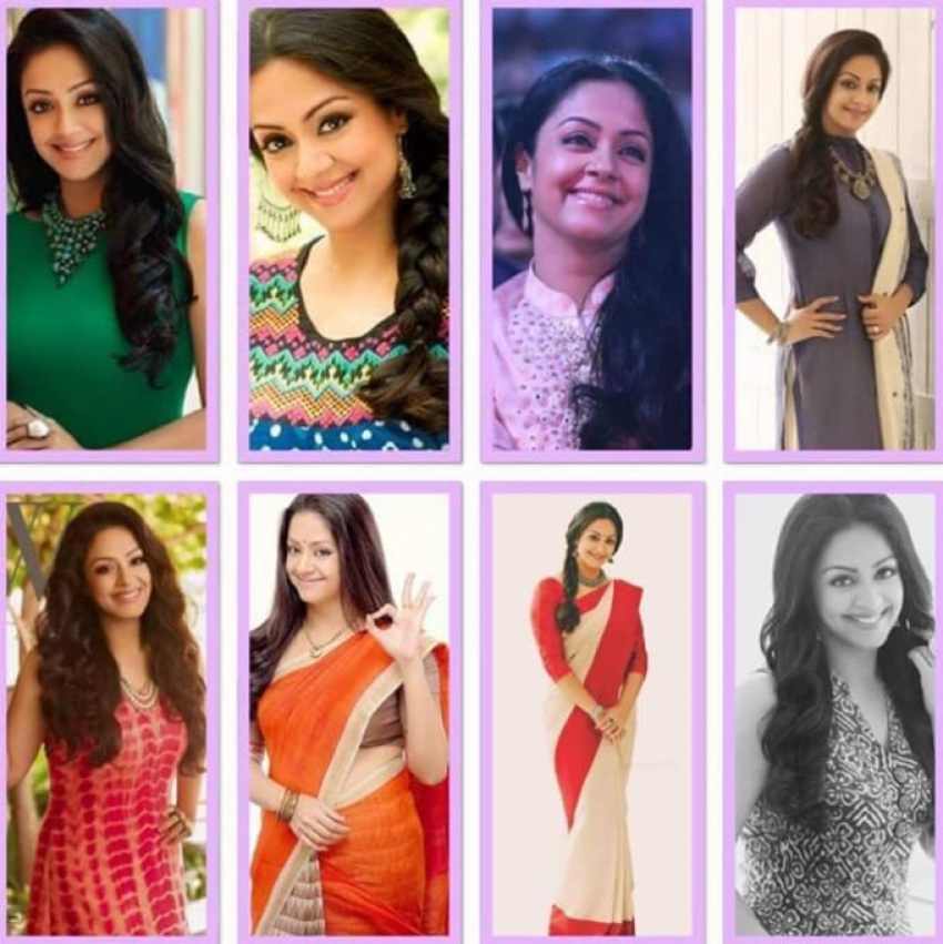 Tamil Actress Jyothika Birthday Special And Unseen Photos
