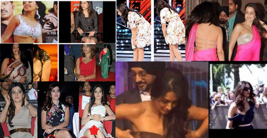Celebs who Faced Dress Slips Photos