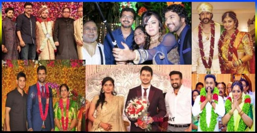 Famous South Indian Celebrities Wedding Photos 2016 Photos Filmibeat
