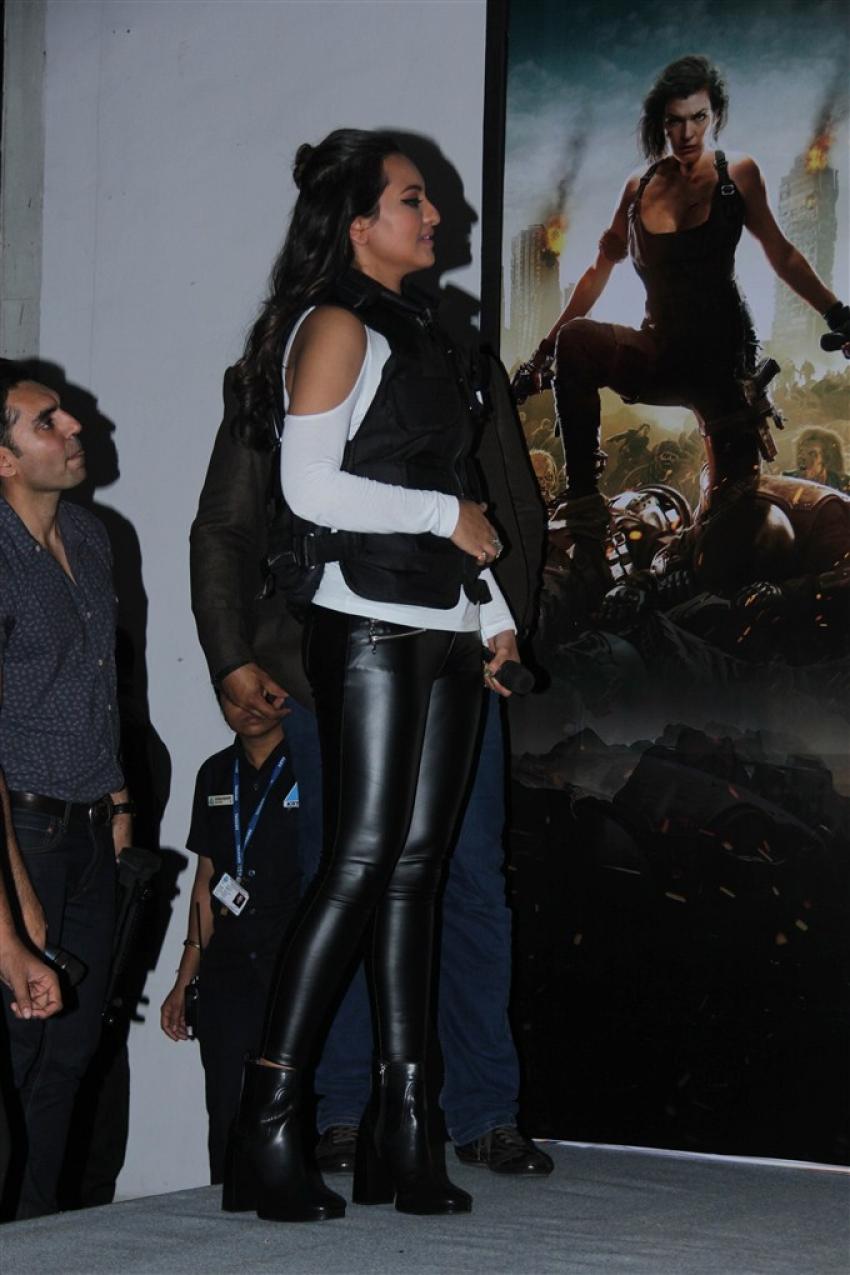Sonakshi Sinha At Haptic Game Launch