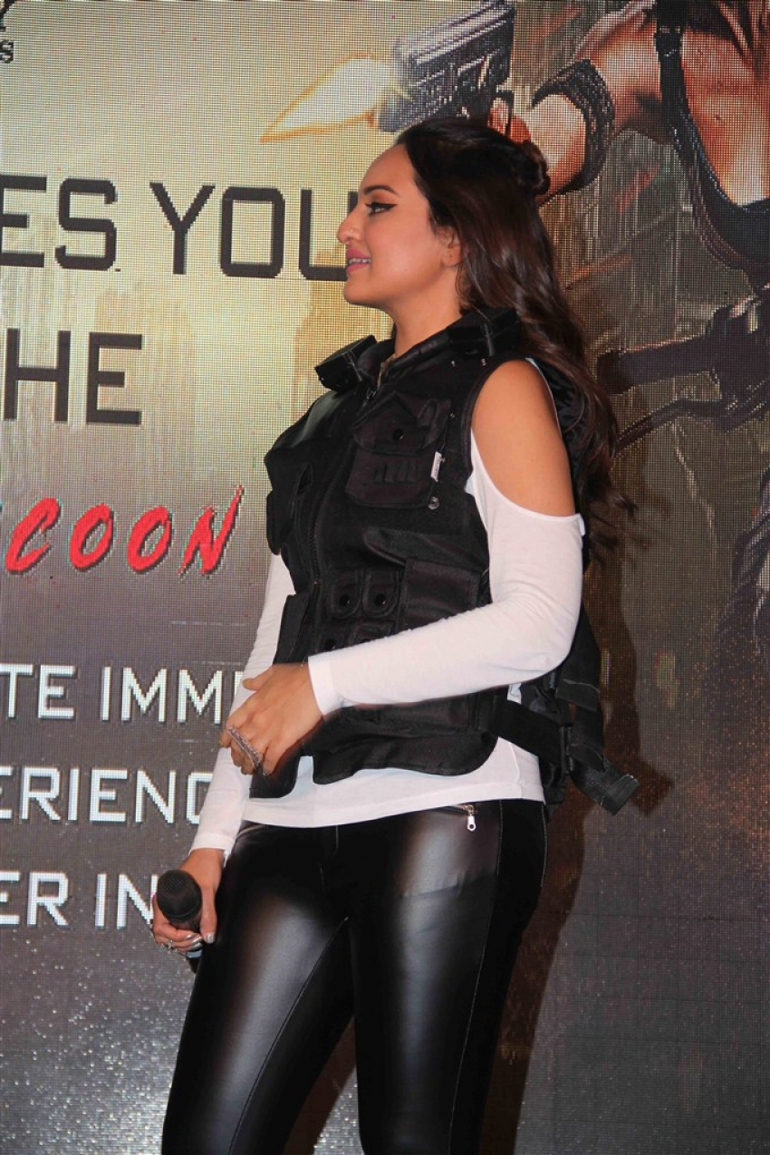 Sonakshi Sinha At Haptic Game Launch