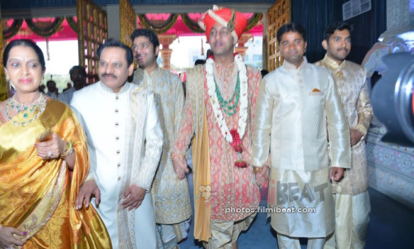 Celebs At Subbarami Reddy Grandson Wedding