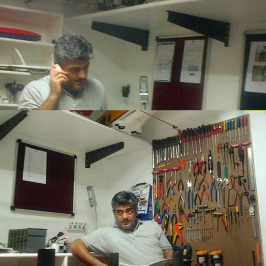 Ajith Viral Photos That Set Internet On Fire Photos - FilmiBeat