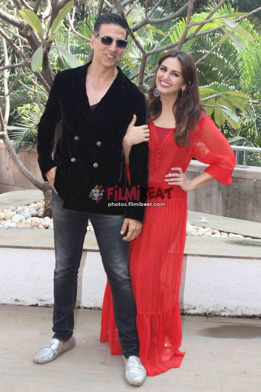 Akshay Kumar & Huma Qureshi Promotes Jolly LLB 2