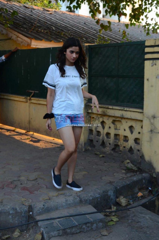 Alia And Varun Dhawan Spotted At Versova For Filmfare Magazine Shoot