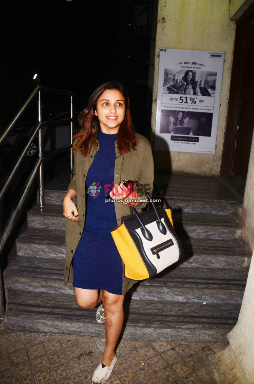 Anushka Sharma And Parineeti Chopra Spotted At Juhu PVR