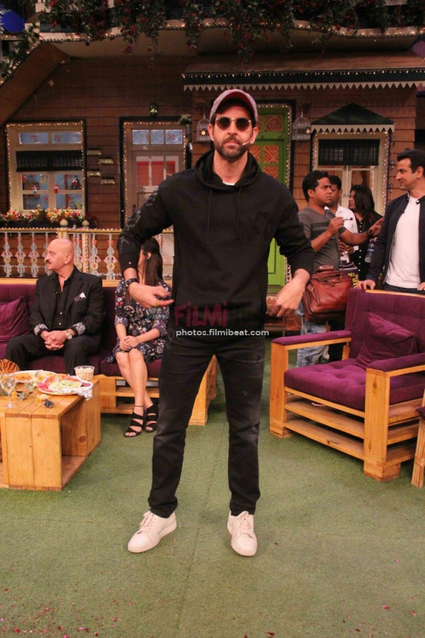 Kaabil Team On Kapil Sharma Show