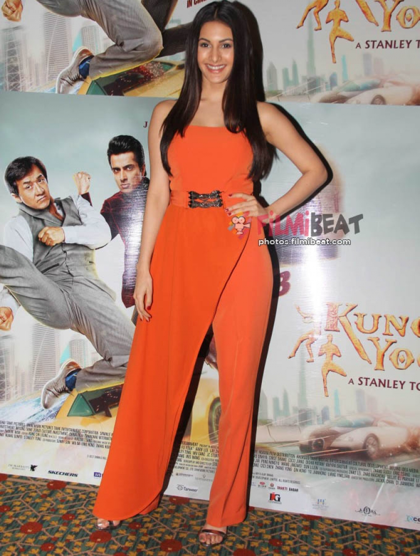 Kung Fu Yoga Press Meet