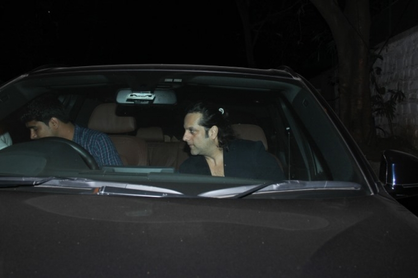 Preity Zinta And Fardeen Khan Spotted At Bandra