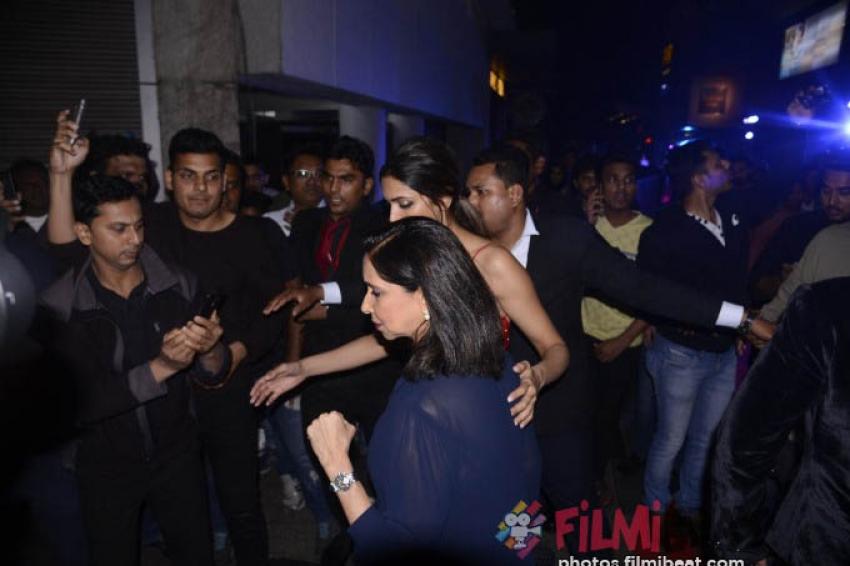 Ranveer Singh & Deepika Padukone At XXX Return Of The Xander Photos