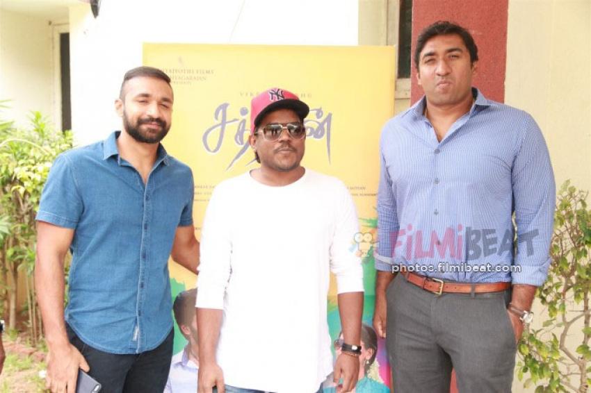 Sathriyan Audio Launch