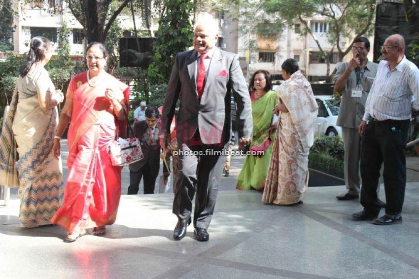 Sunil Shetty At Jagriti Sammelan Vandan Viro