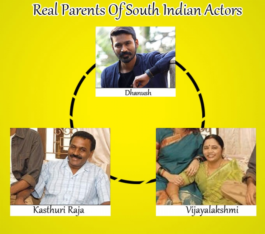Real Parents Of South Indian Actors Photos