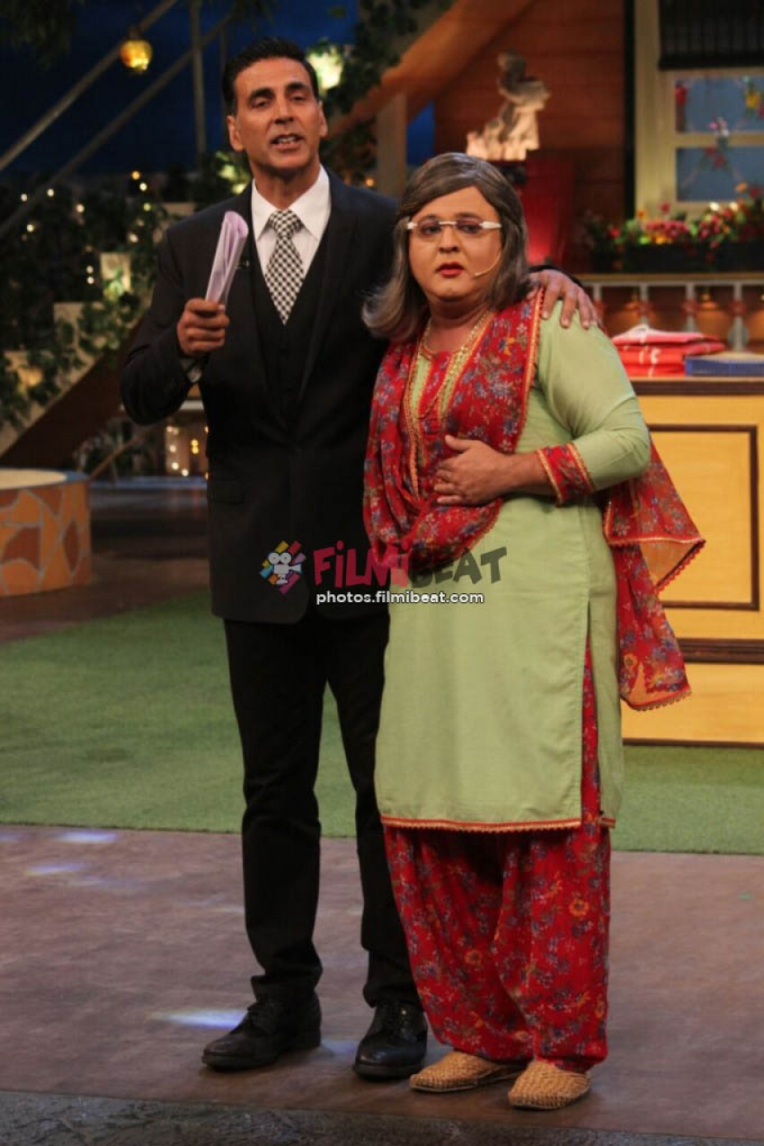 Akshay Kumar Promotes Jolly LLB 2 On The Sets Of Kapil Sharma Show