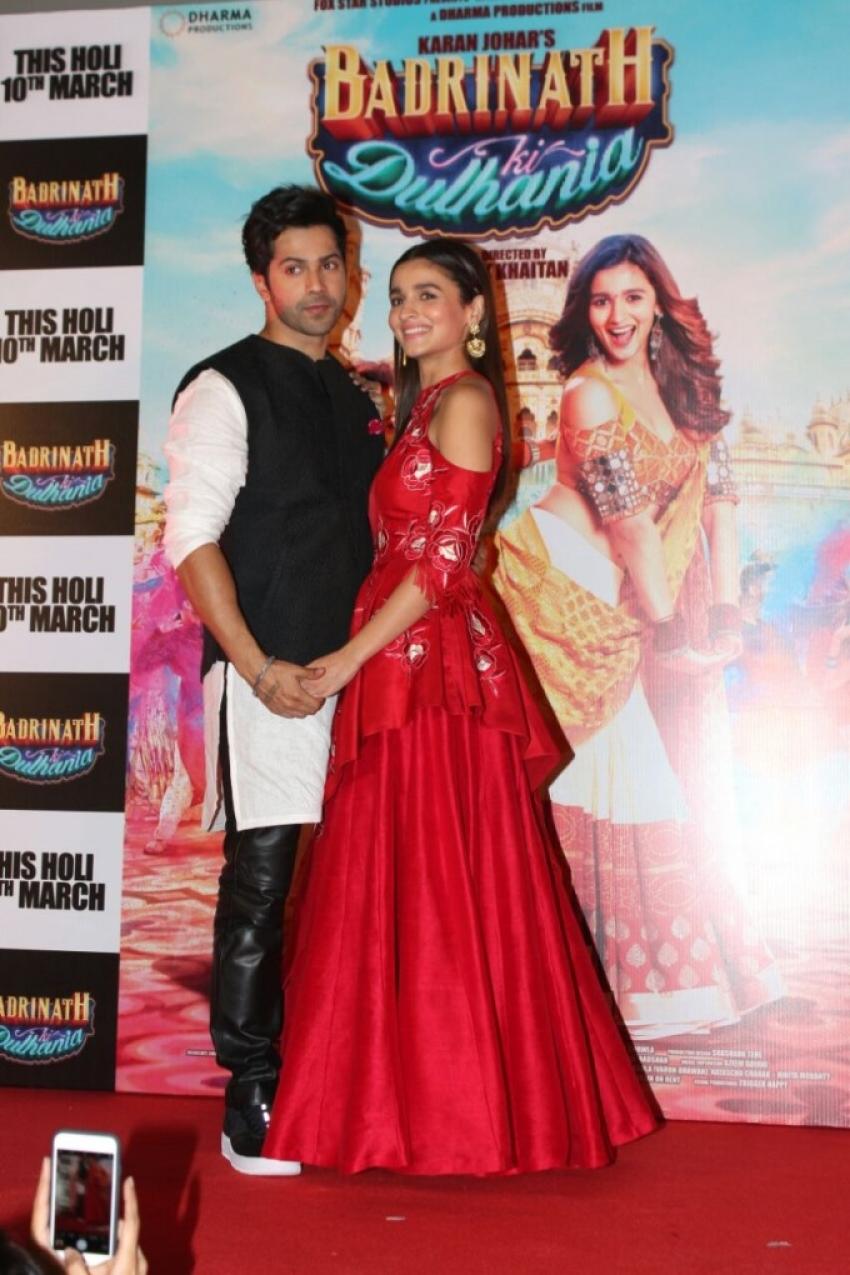 Badrinath Ki Dulhania Trailer Launch
