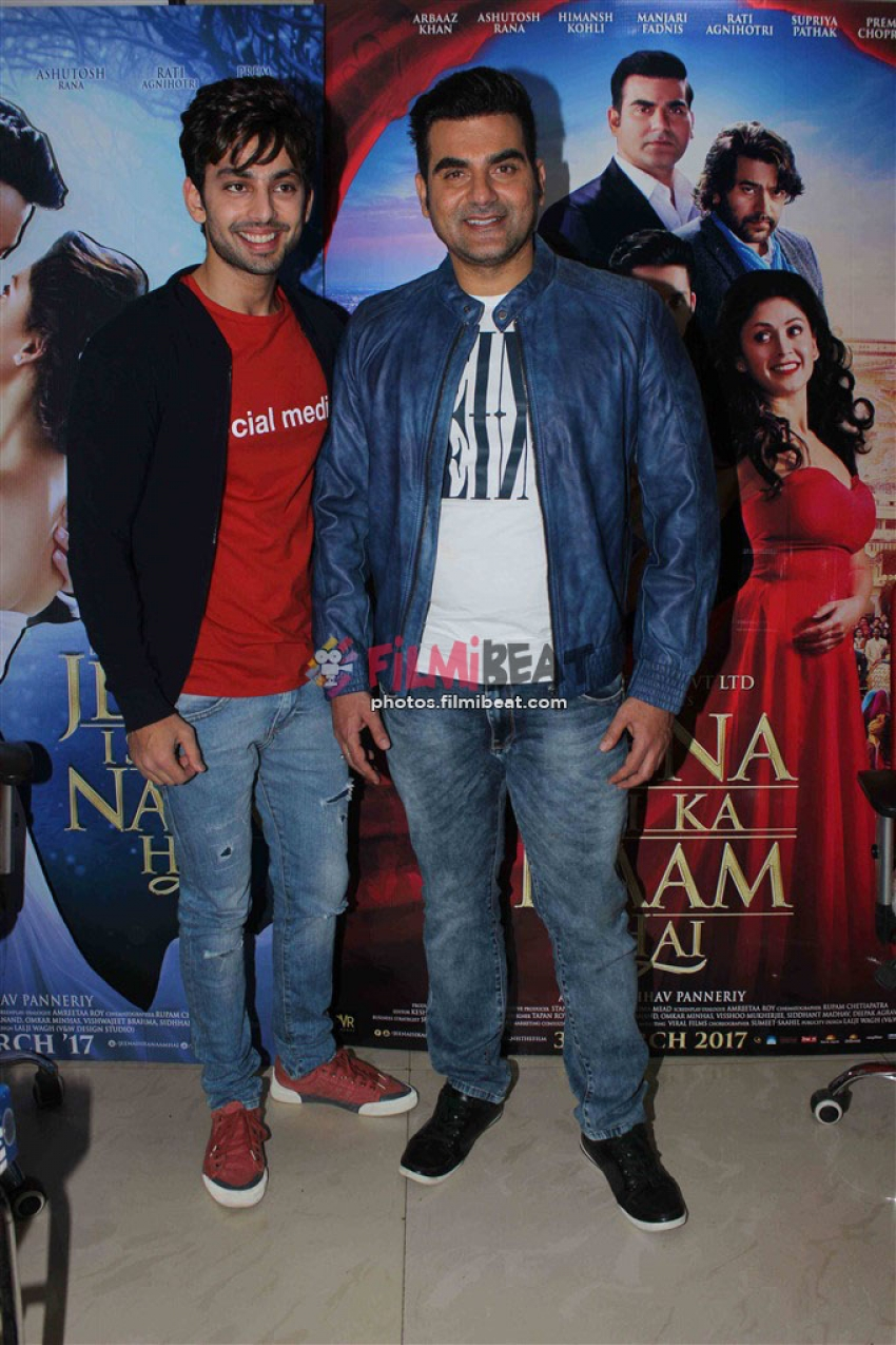 Jeena Isi Ka Naam Hai Movie Promotion Photos