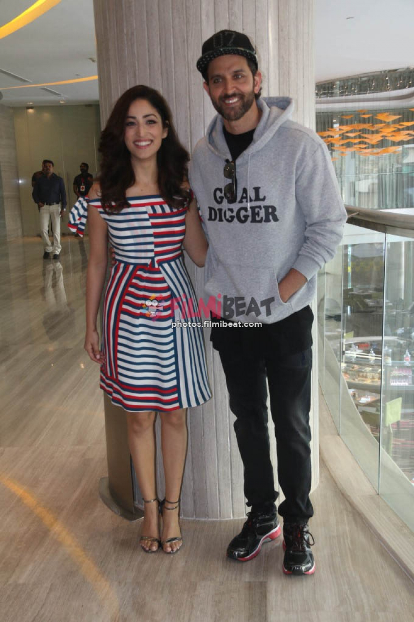 Kaabil Movie Promotion In Ahmedabad