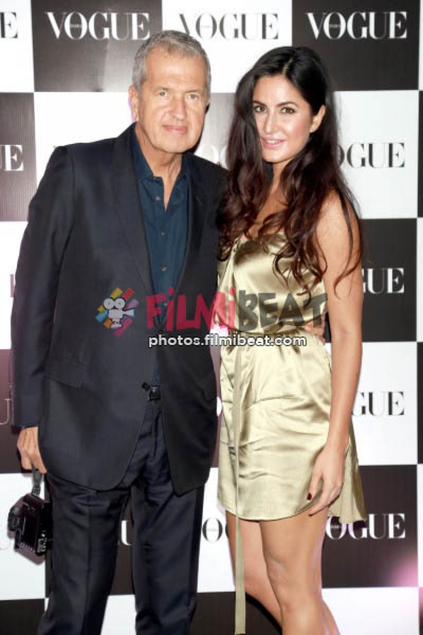 Katrina Kaif At Vogue Inida Event