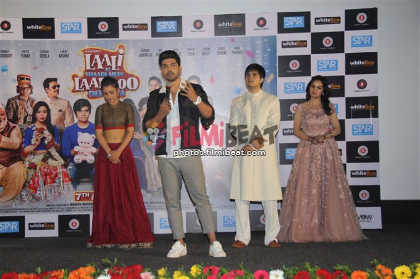 Laali Ki Shaadi Mein Ladoo Dewana Trailer Launch Photos