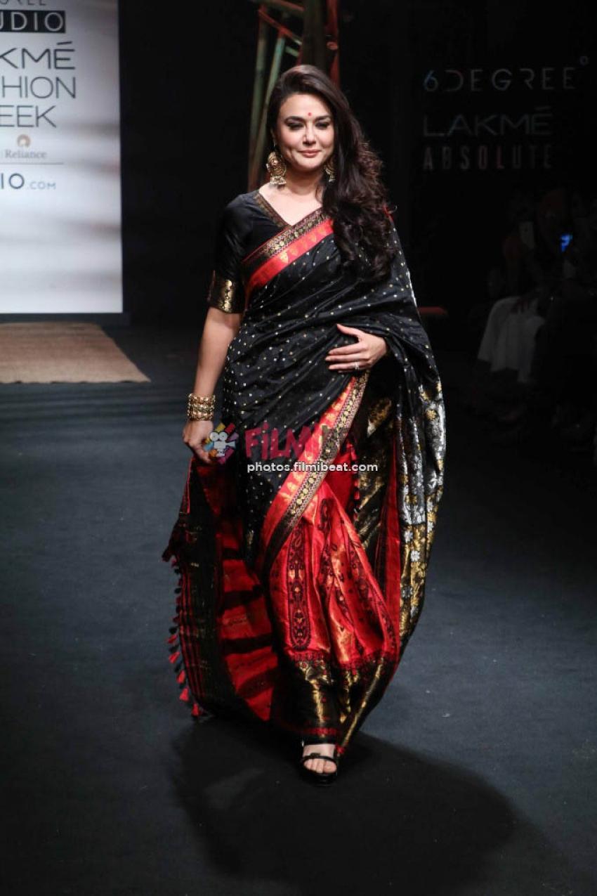 Preity Zinta Walks The Ramp At LFW 2017