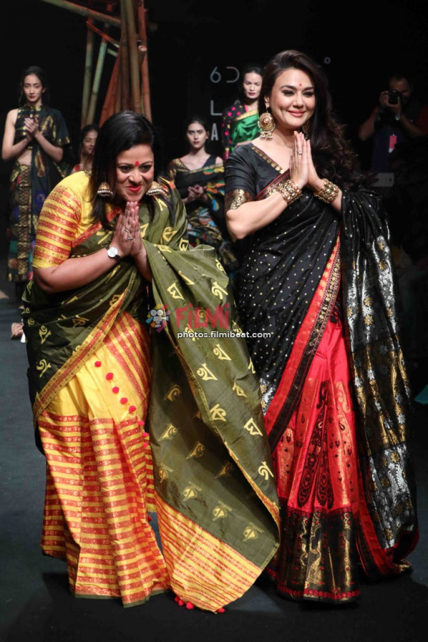 Preity Zinta Walks The Ramp At LFW 2017