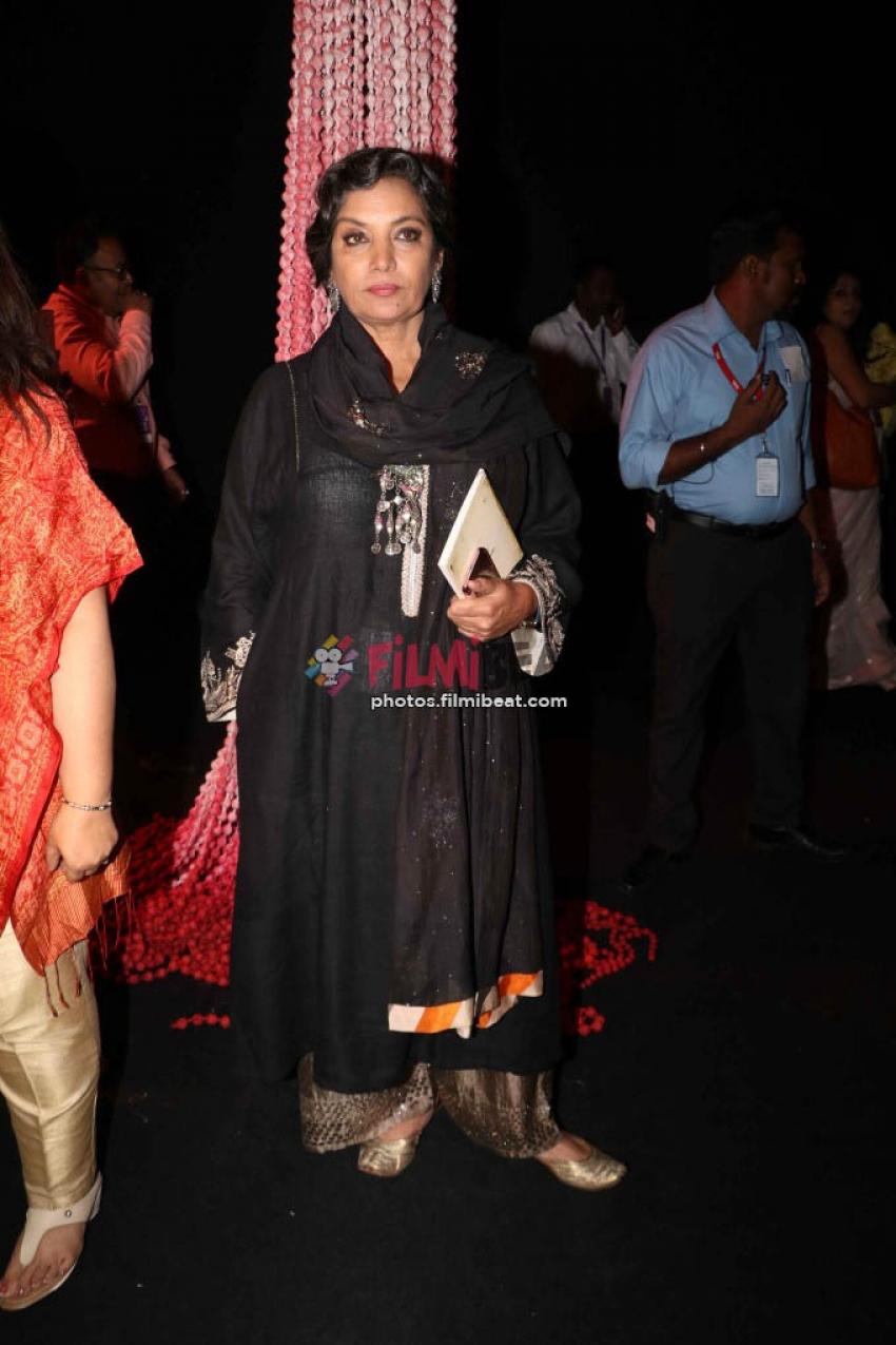 Shabana Azmi, Reggina, Adha Sharma Walks The Ramp At LFW 2017