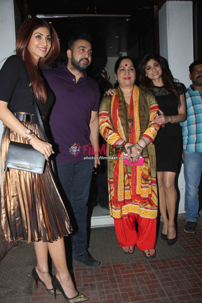 Shamita Shetty Birthday Bash Dinner With Family